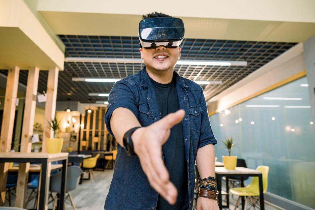 Bienvenue dans la réalité virtuelle VR